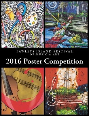 Calling for Entries for the 2016 Pawleys Island Festival of Music & Art Poster Contest