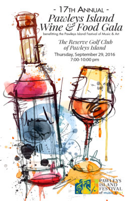 2016 Pawleys Island Wine & Food Gala Program Preview