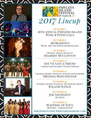 2017 Festival Lineup