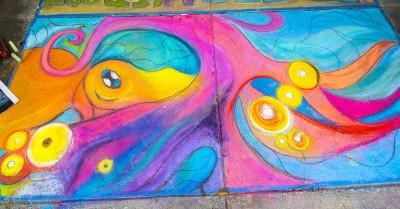 6th Annual Chalk Walk Gallery