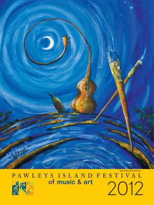 Pawleys Island Festival of Music & Art 2012 Poster