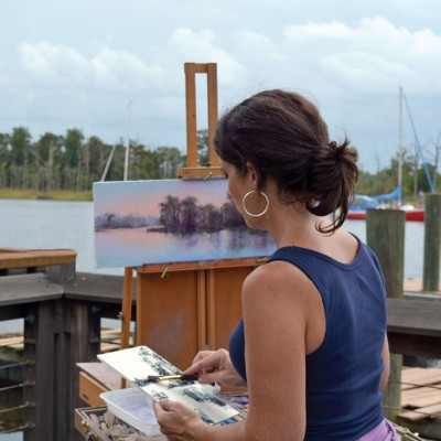 Seaside Palette en Plein Air