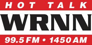 Logo for WRNN Hot Talk 99.5