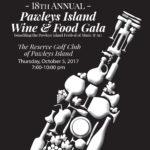 2017 Pawleys Island Wine & Food Gala Program