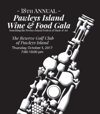 2017 Pawleys Island Wine & Food Gala Program