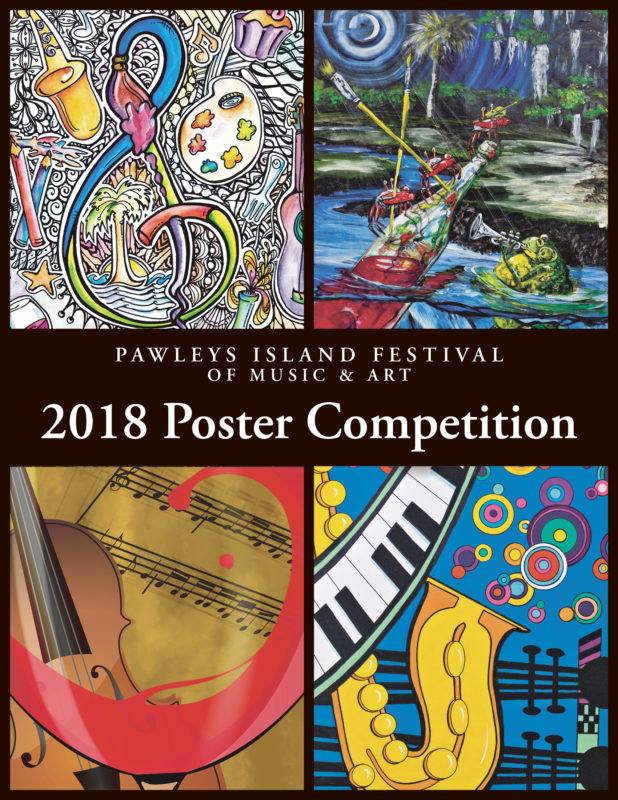 Calling for Entries for the 2018 Pawleys Island Festival of Music & Art Poster Contest