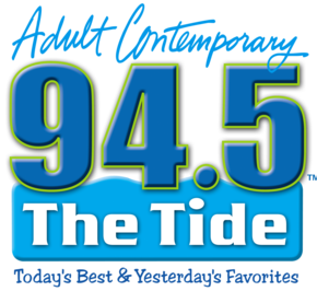 Logo for WYEZ 94.5 FM The Tide