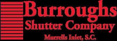 Logo for Burroughs Shutter Company