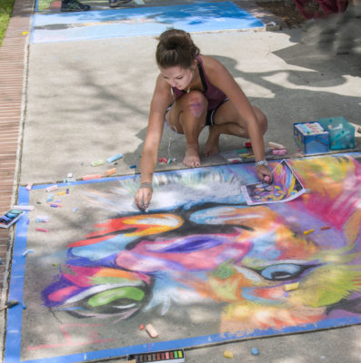 2017 Seaside Palette & Chalk Walk