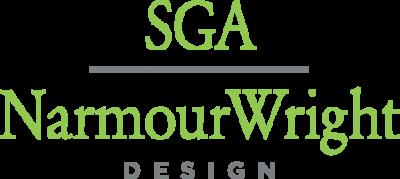 Logo for SGA | NarmourWright Design