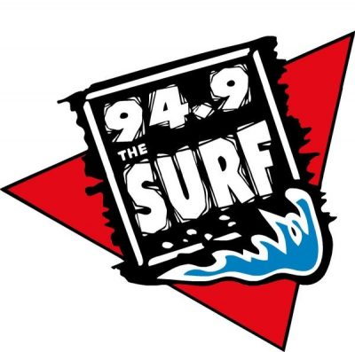Logo for 94.9 The Surf