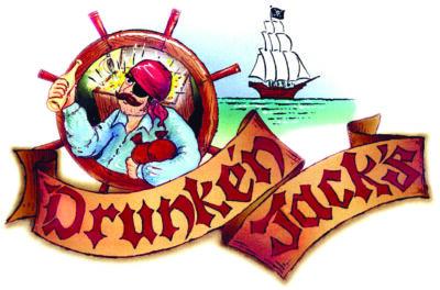 Logo for Drunken Jack's Restaurant & Lounge