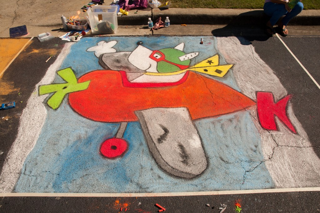 Chalk Walk 2012 Gallery