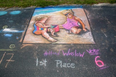 Chalk Walk and Puppet Theatre Gallery