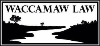 Logo for Waccamaw Law, LLC.